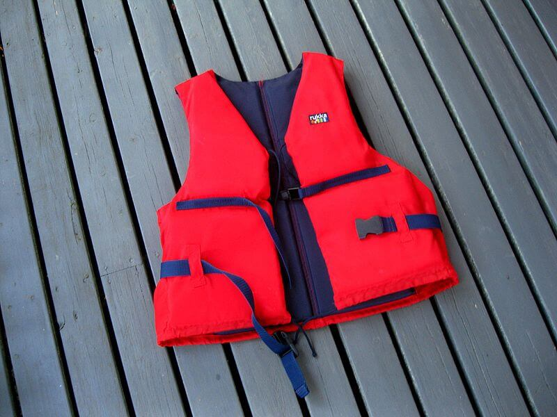 Life jacket guides